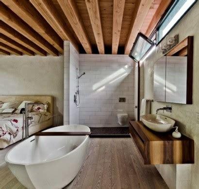 bad im schlafzimmer ideen romantisches design mit einer badewanne im schlafzimmer