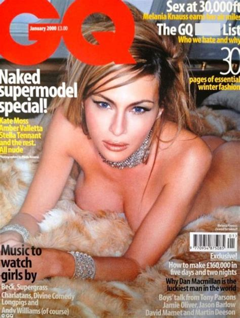 Donald Trump S Wife Melania S Racy Naked Photo Used In Political Campaign Against Him