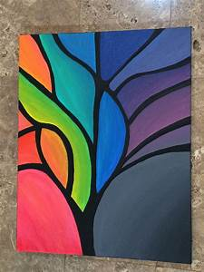 Abstract, Tree, Painting