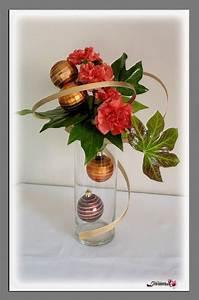 Art Floral Centre De Table Noel : composition fleurs noel pivoine etc ~ Melissatoandfro.com Idées de Décoration