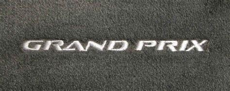 pontiac g6 floor mats logo custom fit pontiac logo floor mats for all pontiac cars