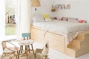 Cabane Chambre Enfant : un lit cabane dans une chambre d 39 enfant blueberry home ~ Teatrodelosmanantiales.com Idées de Décoration