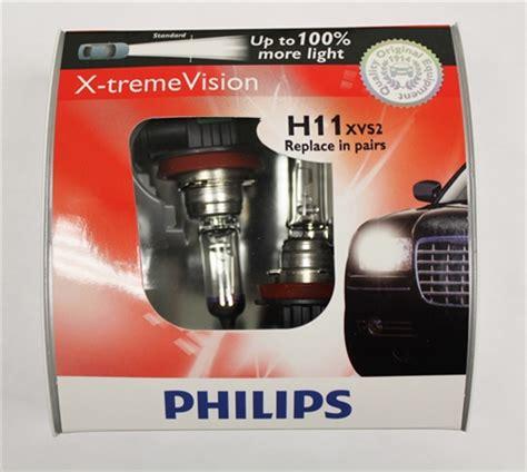 philips xtreme vision philips h7 x treme vision halogen bulbs h11xvs2