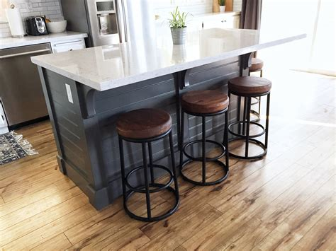how to build a kitchen island with seating kitchen island make it yourself save big domestic