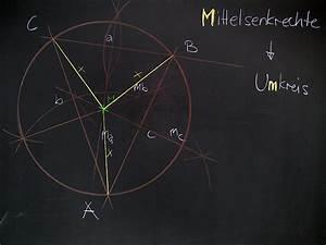 Baryzentrische Koordinaten Berechnen : mathematik geometrie tafelbilder mittelsenkrechte umkreis des dreiecks 8500 bungen ~ Themetempest.com Abrechnung