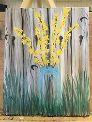 Spring Acrylic Canvas Painting Ideas