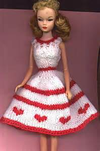 Barbie Doll Clothes Knitting Patterns Free