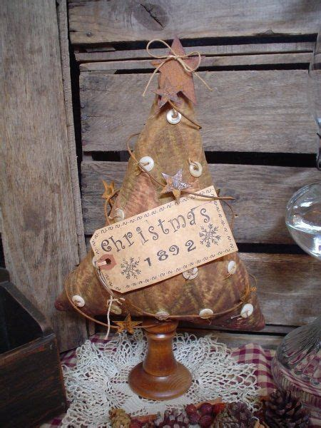 17 best ideas about primitive christmas tree on pinterest