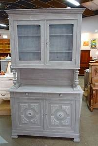 Buffet De Cuisine Gris : meuble de cuisine ancien repeint meuble cuisine ancien meuble cuisine style anglais meubles de ~ Mglfilm.com Idées de Décoration