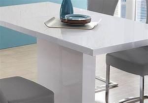 Tisch Weiß Hochglanz Ausziehbar : esstisch pamela tisch in wei hochglanz edelstahl ausziehbar 160 200 x80 cm ebay ~ Buech-reservation.com Haus und Dekorationen