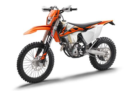 ktm range of bikes bike 2018 ktm exc f and exc range motoonline au