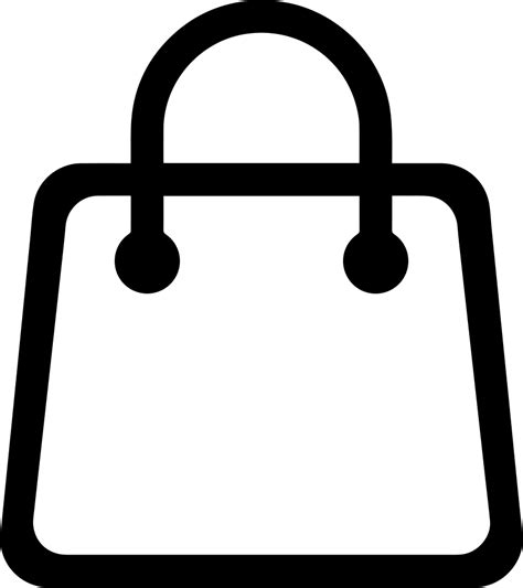 shopping bag svg png icon free download 334009 onlinewebfonts com