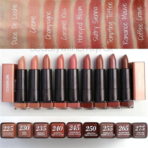 covergirl lipstick colors covergirl lipstick colors the of