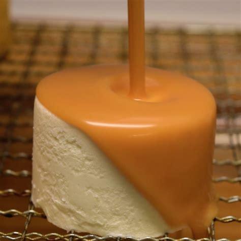cake glaze salted caramel mirror glaze cake tutorial pinterest glaze caramel and cake