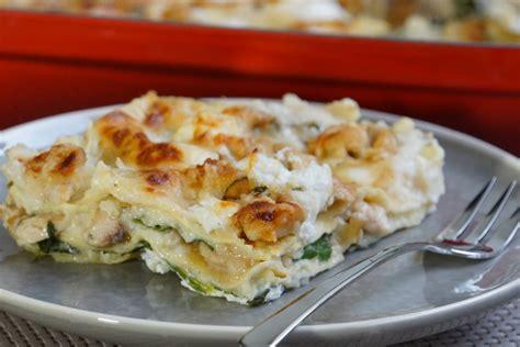 cuisine lasagne facile lasagnes faciles au poulet pesto et ricotta ultra moelleuses