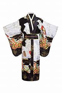 Yukata Women's Gorgeous Japanese Traditional Geisha Kimono ...