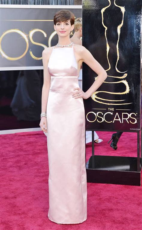 Anne Hathaway from Worst Dressed at the 2013 Oscars | E! News
