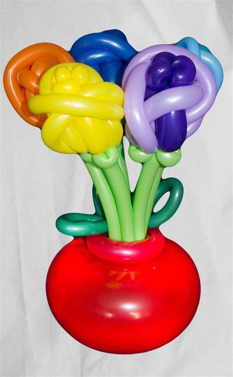 Tulpenstrauß In Vase by Luftballon Blumenstrauss In Vase 7 Blumen Lufties Ballons
