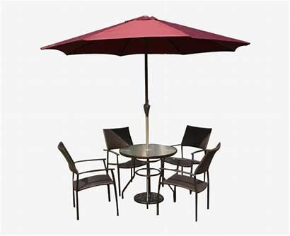 Umbrella Chair Patio Tables Transparent Nicepng