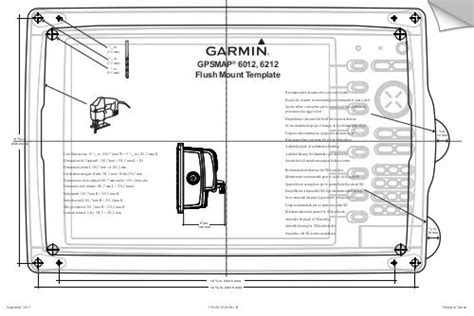 Garmin Gpsmap® 6212 Manual And User Guide