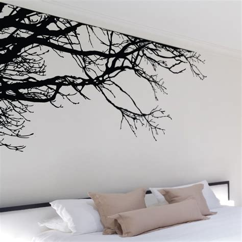 stickers ecriture chambre shadowy tree branches wall decal so that 39 s cool