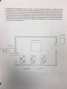 Solved  5  Complete The Wiring Diagram Below In Which A Se