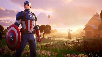 Fortnite 4k Wallpapers Marvel Captain America Wallpapercave