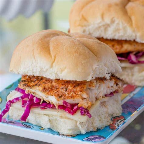grouper sandwich blackened grilled
