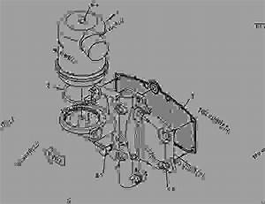 2463557 Cover Group-cylinder Block