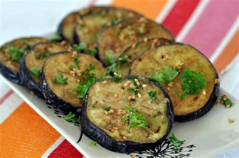 que cuisiner avec des aubergines recette aubergine frite au sésame