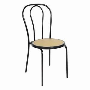 Chaise Bistrot Metal : chaise bistrot expresso noire ~ Teatrodelosmanantiales.com Idées de Décoration