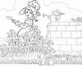 Mary Contrary Quite Rhyme Coloring Nursery Lamb Had sketch template