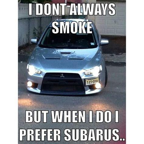evo subaru meme evo x mitsubishi subaru car meme car funny car memes