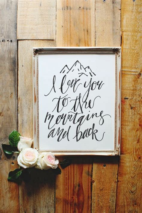 love    mountains   print adventure