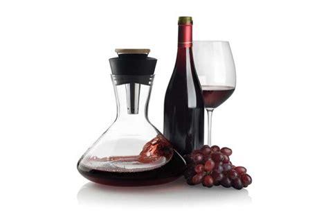 accessoire de bureau original carafe avec aérateur de vin aerato accessoire vin