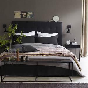 chambre taupe noir 014344 gtgt emihemcom la meilleure With superb peinture couleur gris taupe 0 la chambre grise 40 idees pour la deco archzine fr