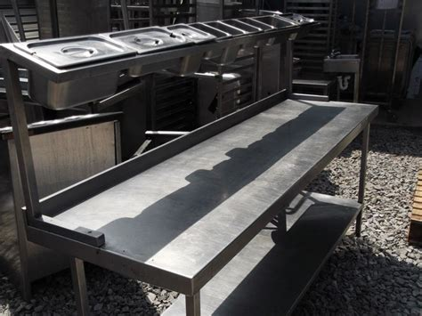 stainless steel food prep table with sink stainless steel prep table large size of supera stainless