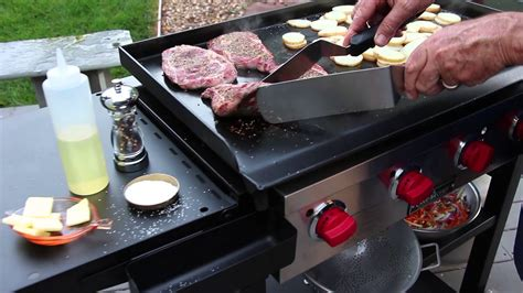 flat top grill for home kitchen how to grill on a flat top