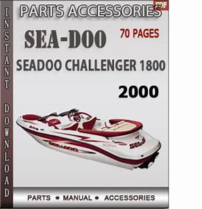 Seadoo Challenger 1800 2000 Spare Parts Manual Download