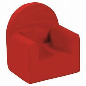 Fauteuil Enfant Mousse : fauteuil d 39 enfant room studio fauteuil club room rouge ~ Teatrodelosmanantiales.com Idées de Décoration
