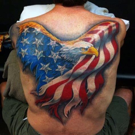 90 Patriotic Tattoos For Men - Nationalistic Pride Design