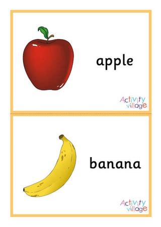 Food And Drink Vocabulary Printables