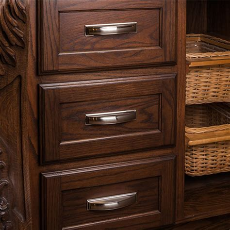 Annadale Collection Pillow Cup Cabinet Pull 5'' or 6 1/4