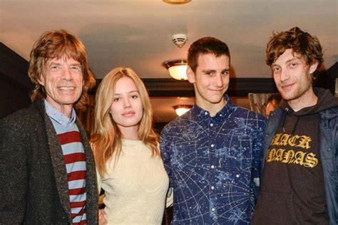 meet  jagger family mick jagger jerry hall lizzy