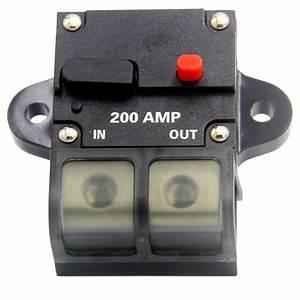 Zookoto 200 Amp Circuit Breaker  Automotive High Current 0