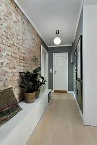 1001 idees pour savoir quelle couleur pour un couloir With decorer grand mur blanc