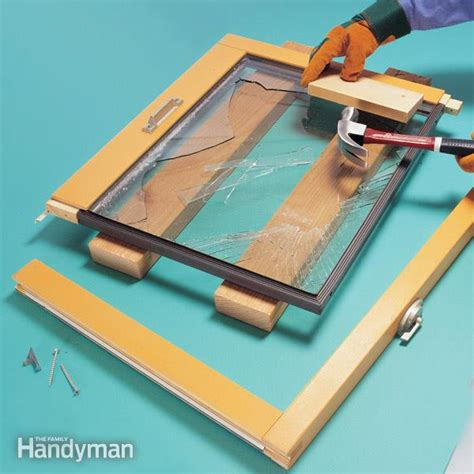 How To Replace Insulating Glass  The Family Handyman