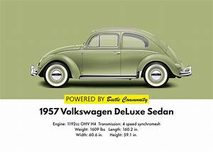 Vw Beetle 1957 Oval Window Model And Specifications