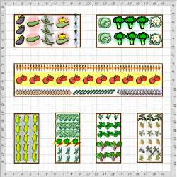 vegetable garden layouts on garden layouts