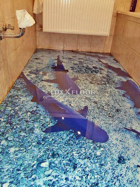 3d fußboden komplettsystem badezimmer boden 3d gerrys 3d boden bietet wow effekt im badezimmer hochwertige boden